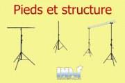 Pied et structure
