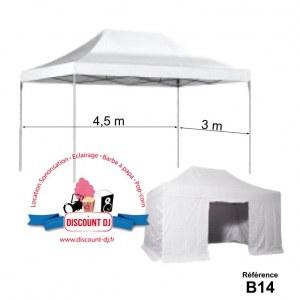 Tente 13,5 m²
