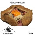 Galette bacon