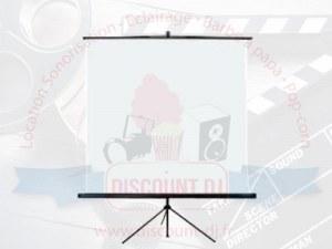 Location écran vidéoprojecteur 1,5 x 1,5