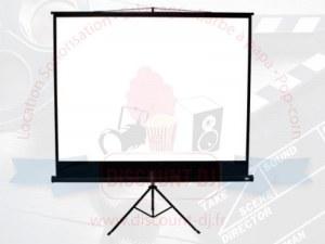 Location écran vidéoprojecteur 1,7 x 1,7